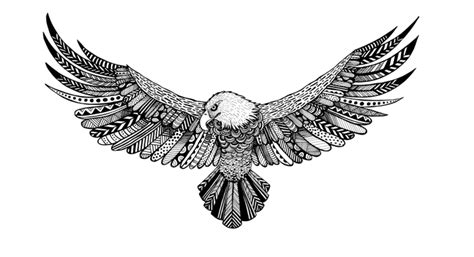 white eagle tattoo luton eagle illustration by becky brock tattoos pinterest
