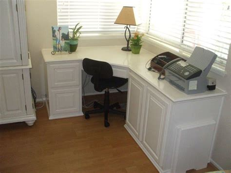 Corner Desk Built In Built In Desk And Home Office Woodwork Creations