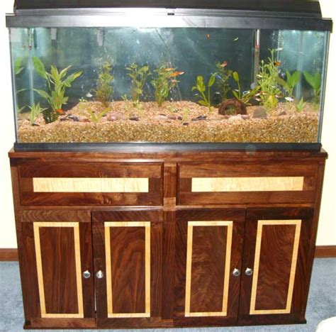 fish tank bench black walnut maple fish tank stand woodworking blog
