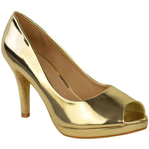 Peep Toe Stiletto Pumps womens mid high heels stilettos platforms sandals