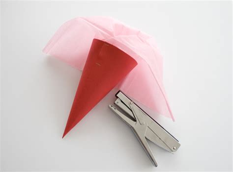 How To Make A Paper Cone - how to make a paper cone cakejournal