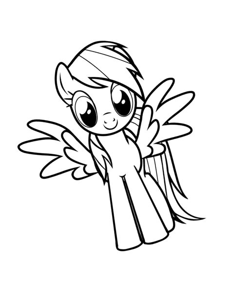 rainbow dash girl coloring page rainbow dash coloring pages to download and print for free