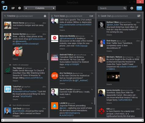 tweetdeck for android tweetdeck pro for android gopmobil