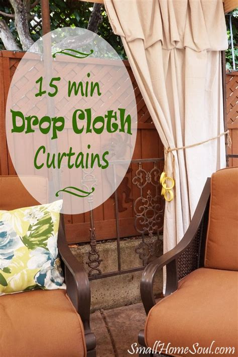 no sew drop cloth patio curtains best 25 patio curtains ideas on pinterest outdoor