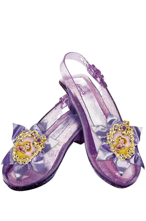 princess shoes disney princess rapunzel sparkle shoes costume accessory