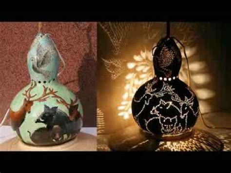 gourd lamps  serka wwwgourdlampscom youtube