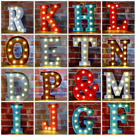 led marquee light bulbs led 12 marquee letter lights vintage circus style