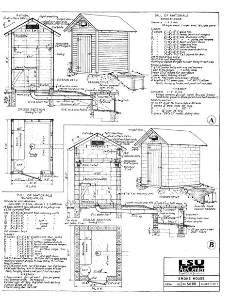 backyard smokehouse plans 23 awesome diy smokehouse plans you can build in the backyard