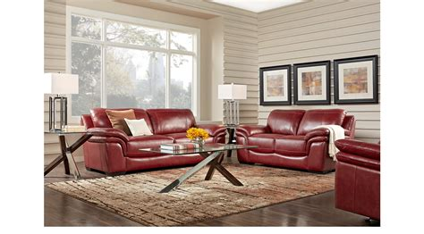 1 488 00 grand palazzo leather 2 pc living room classic contemporary