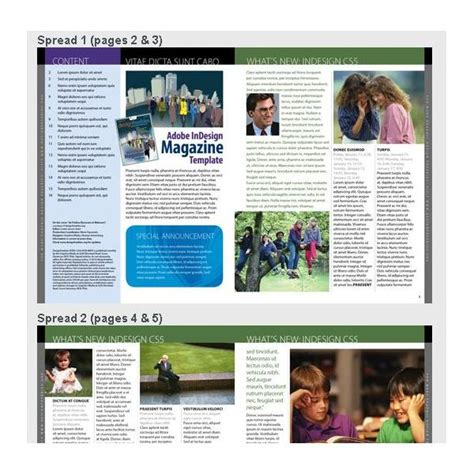 pics for gt magazine article template layout