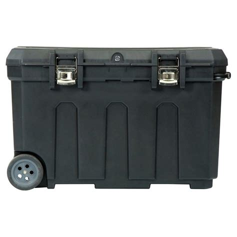 stanley 19 13 in 24 gal mobile tool box 029025r the