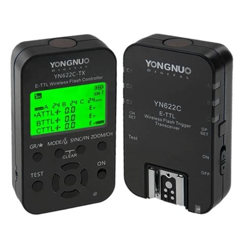 Trigger Yongnuo Yn622c yongnuo yn622c kit e ttl wireless flash trigger kit for