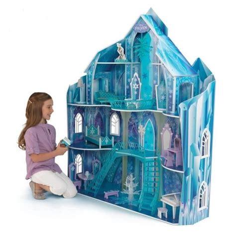 disney frozen doll house disney manoir frozen snowflake achat vente maison poup 233 e cdiscount