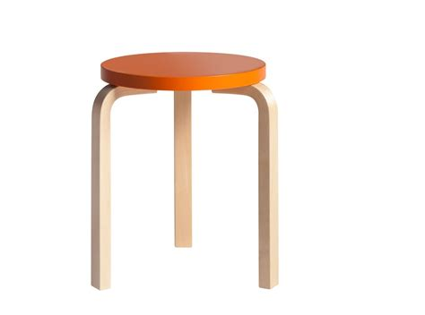 On A Stool by Stool 60 By Alvar Aalto For Artek