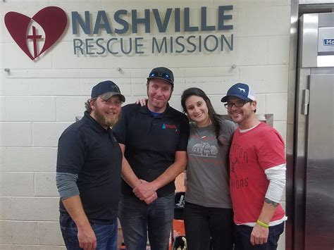 nashville rescue stratton exteriors partners with nashville rescue mission to help serve the homeless