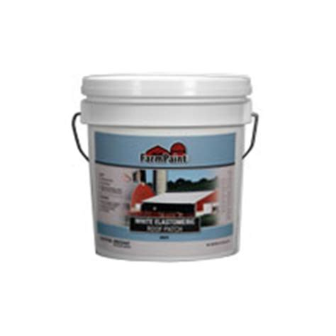 Barn Roof Paint Sprayer - white elastomeric roof patch 1 gallon reflective roof