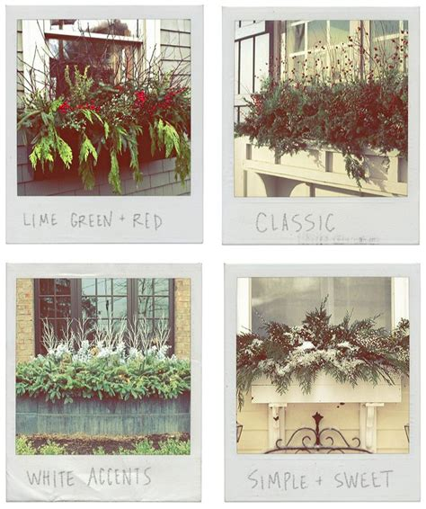 ideas for winter window boxes 25 best ideas about winter window boxes on