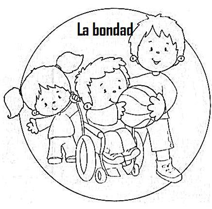 imagenes para dibujar sobre la solidaridad etica y valores la bondad