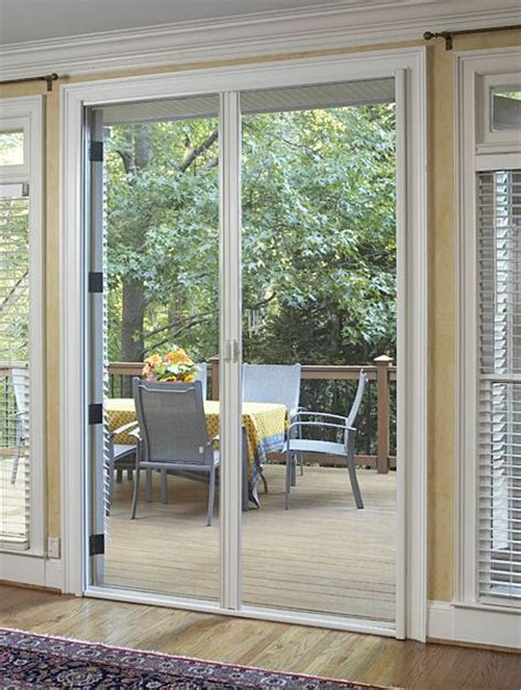 Outward Opening French Doors With Retractable Screens Front Door Opening Outwards