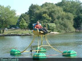 redneck pontoon chair with tv redneck boats