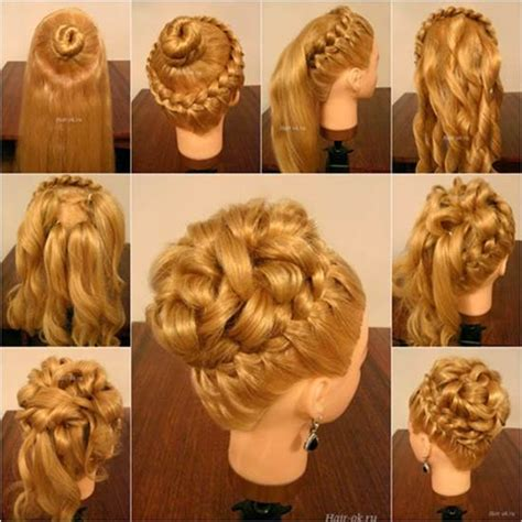 Braid And Curls Hairstyles by How To Diy Hairstyle With Braids And Curls
