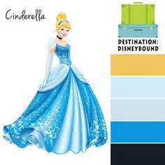 1000 Images About Disneybound And Outfits On Pinterest Disney Princess Color Palette