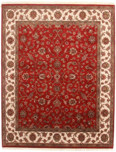 Looking Rugs by 8 X 10 Wool Tabriz Style Rug 13712