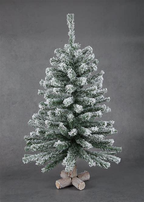 mini snowy christmas tree cm  cm green matalan