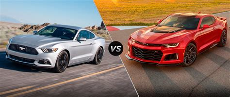 whats better a mustang or camaro camaro vs mustang 2018 2019 car release specs price