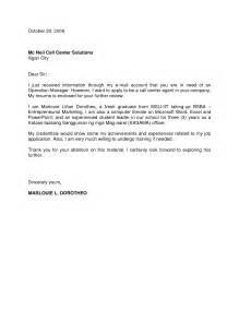 Job Application Letter For Fresh Graduate Teacher Job Application Letter Format For Companies