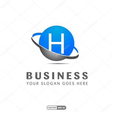 Business Letter Logo business company letter h logo stock vector 169 ibrandify