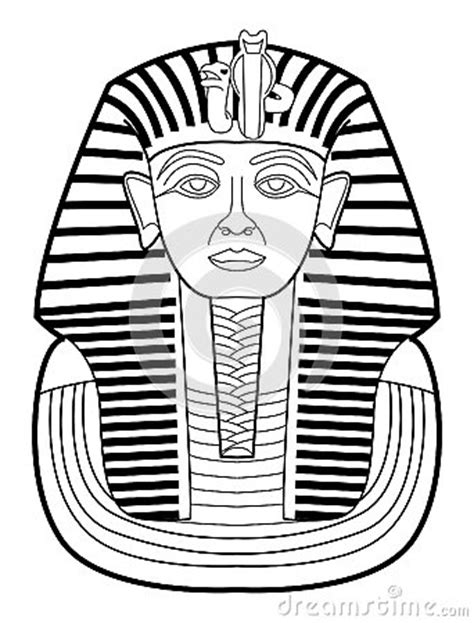 Pharaoh Outline by Pharaoh Royalty Free Stock Images Image 34424829