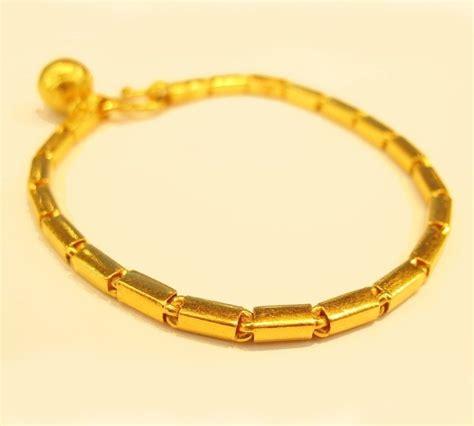 Handmade Gold Bracelet - 22k gold handmade baht bracelet from thailand 7 5 quot 42 ebay