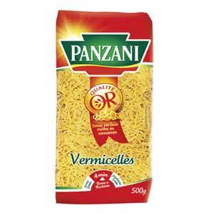 vermicelles panzani pates pour soupe