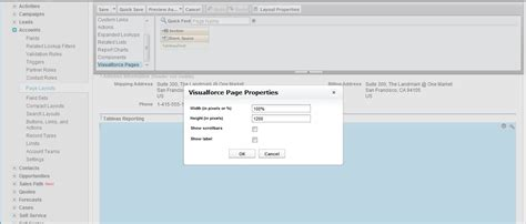 editing page layout salesforce tableau quick integration in salesforce clearpeaks blog