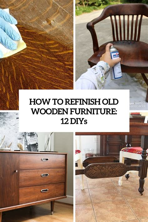 How To Restain Wood Furniture by How To Refinish Wooden Furniture 12 Smart Diys