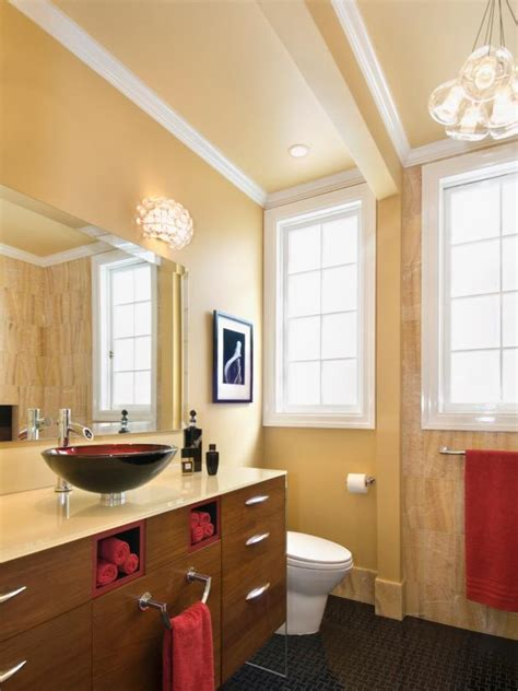 bathroom by design small bathrooms big design hgtv