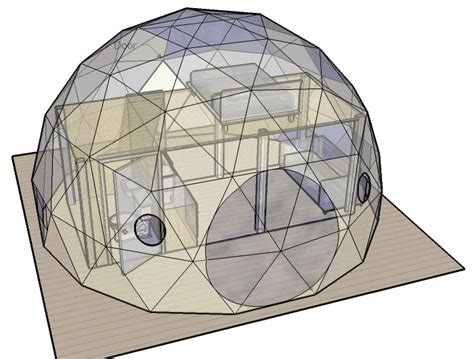 geodesic dome house plans free diy geodesic dome home plans