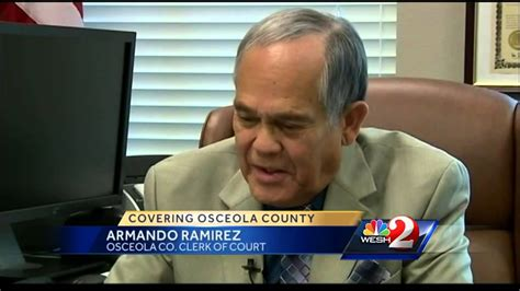 Osceola County Clerk Of Courts Records Search No Charges Filed Against Osceola Clerk Of Court Armando Ramirez