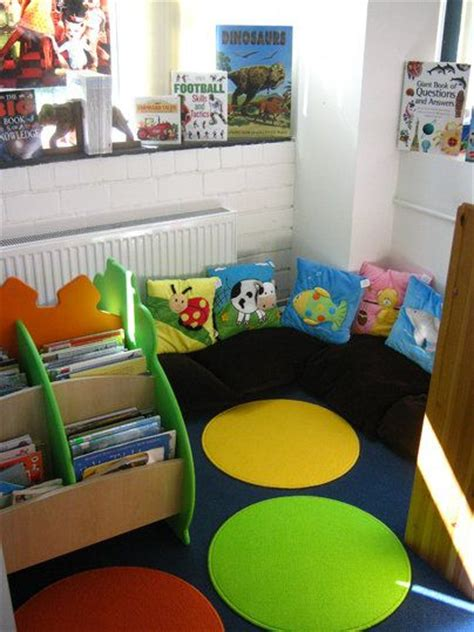 story themes for early years reading corner display classroom display class display