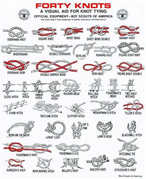printable knot card handy knot guides geek prepper