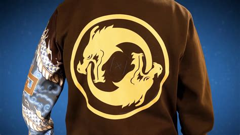 Jaket Sweater Overwatch I Will Protect overwatch ultimate hoodie hanzo