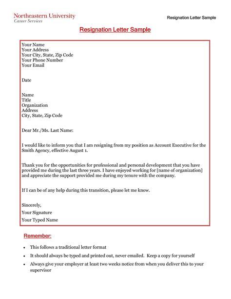 heartfelt personal resignation letter templates