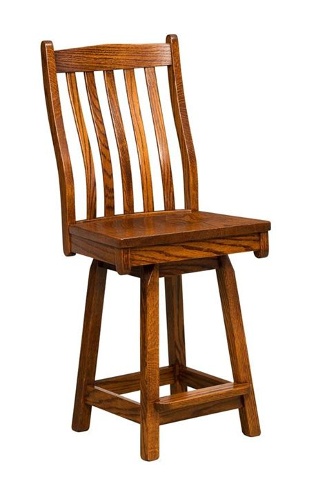 mission bar stools swivel lincoln mission swivel bar stool from dutchcrafters amish
