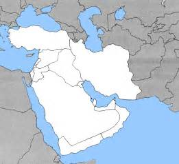 The Mediterranean And Middle East Chapter 3 Outline by Blank Map Of The Middle East With Rivers