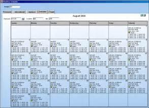 monthly employee schedule calendar calendar 2017 printable
