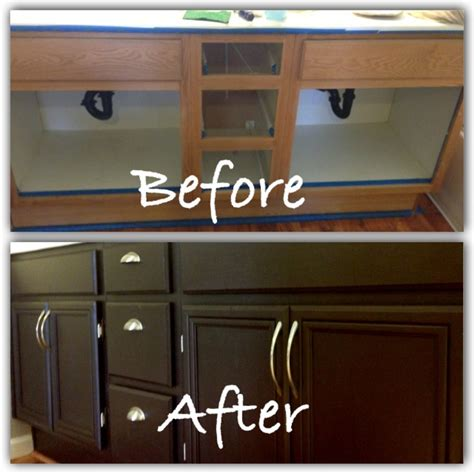 home depot vanity paint diy bathroom vanity facelift using rustoleum paint kit