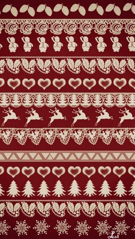 christmas pattern we heart it christmas patterns pattern wallpaper and we heart it on