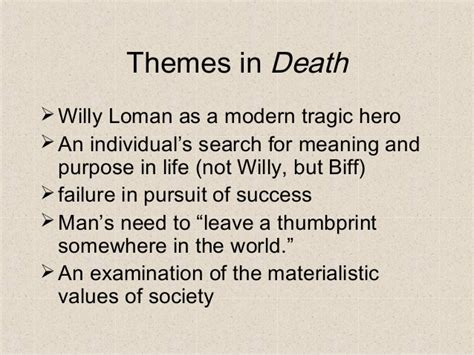 themes in the book death of a salesman death of a salesman 6d2a60
