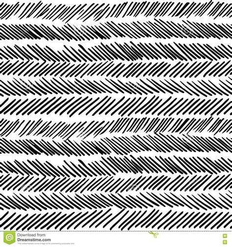 black white stripe print pattern stripe black and white boho retro seamless pattern stock
